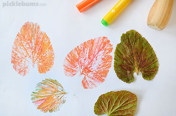 Image result for leaf print