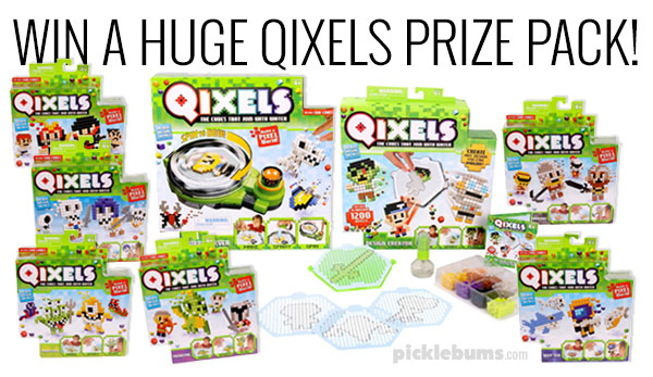 Win a huge Qixels prize pack