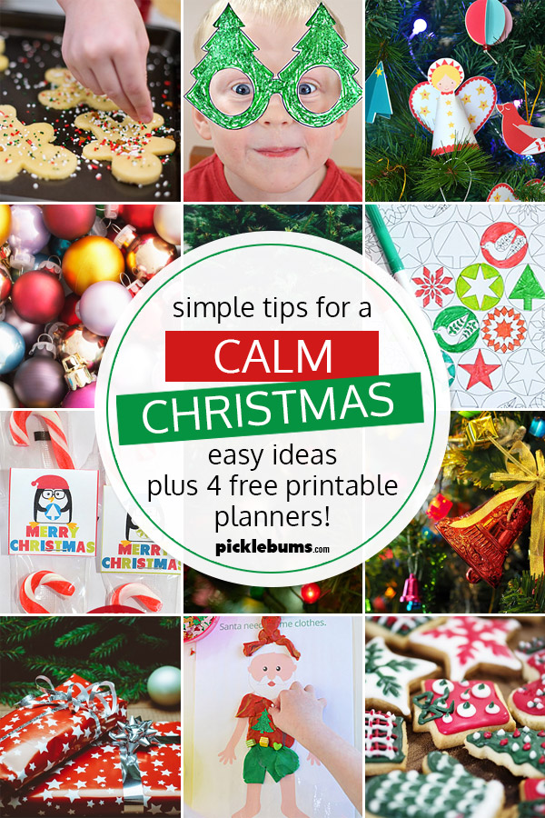 Simple Tips for a Calm Christmas
