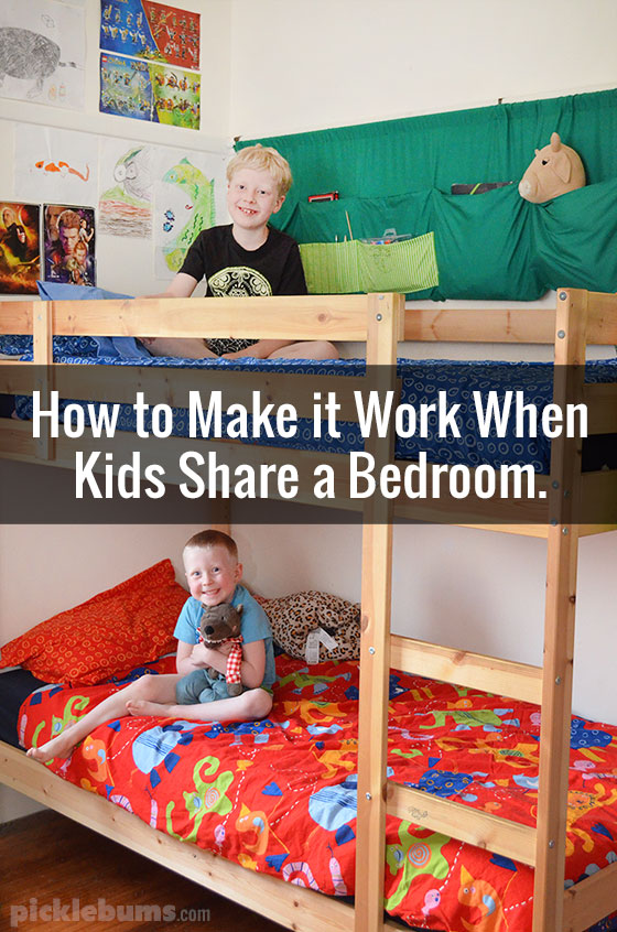 Making A One Bedroom Work With A Baby: How To Make It Work When Kids Share A Bedroom