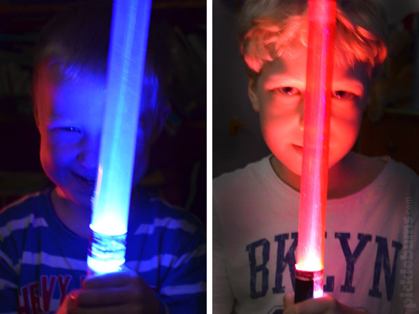How to make your own lightsaber!