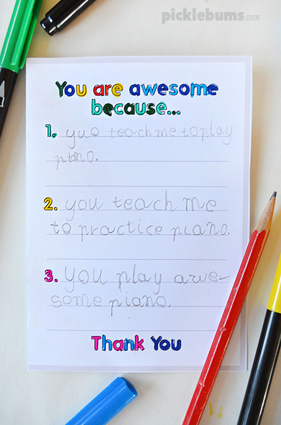 Printable thank you cards to make with your kids three thank you cards to make with your kids using our simple printable starters m4hsunfo