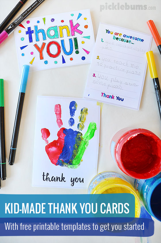 How To Make A Thank You Letter Creative Craft