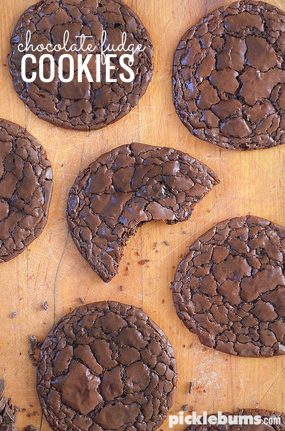 Chocolate fudge cookies - an easy gluten free cookie recipe