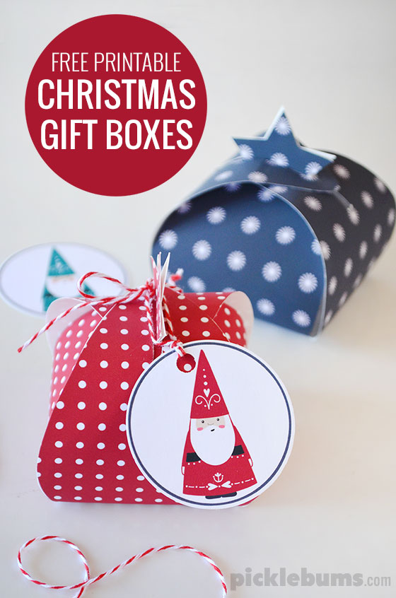 picture relating to Printable Gift Box named Permits Wrap! Absolutely free Printable Reward Containers - Pickles