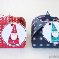 Let's Wrap! Free Printable Gift Boxes