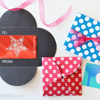 Free Printable Gift Card Holders
