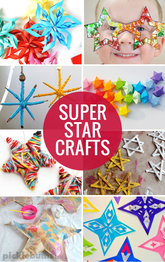 8 super star crafts and ideas to try with your kids