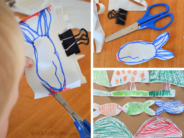 More than just paper dolls! How to make fun paper chain dolls plus 15 other ideas for simple paper cutout chains