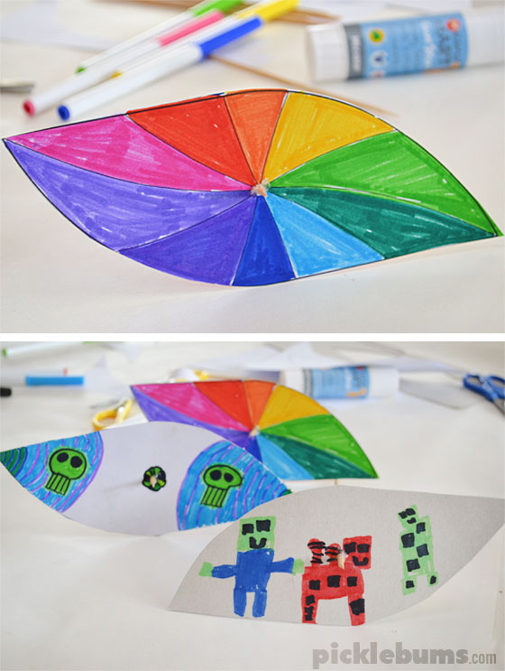 Make a paper and bamboo helicopter toy with these simple instructions and free printable