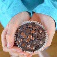 Chocolate Zucchini Muffins