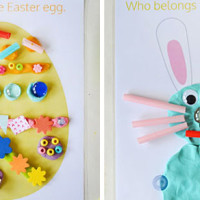 Easter Play Dough Mats – Free Printable