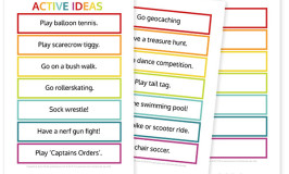 20+ Fun Ways to get Active With your Kids