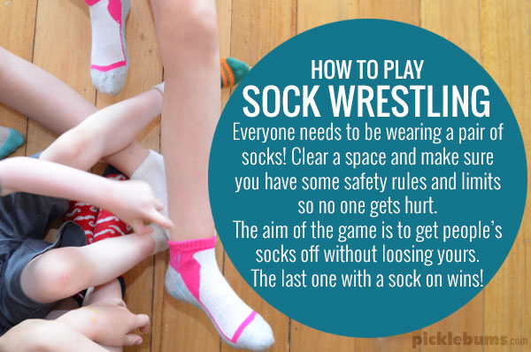 How to play sock wrestling!