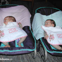 Dear Mum of twin babies... it gets better.