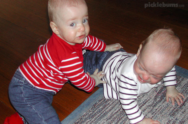 Dear Mum of twin babies... it gets better.