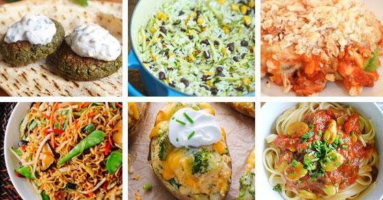 15 Kid Friendly Vegetarian Dinners Picklebums