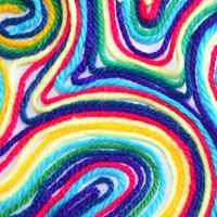 Yarn Painting.