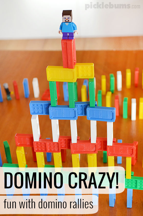 Domino crazy! Tips, tricks and videos on setting up your own domino rallies