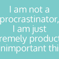 Eight Awesome ways to procrastinate