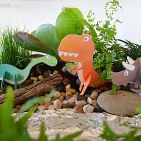 Make a Dinosaur Garden