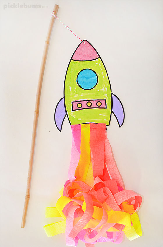 photo regarding Rocket Printable identify Deliver a Traveling Rocket! - Pickles