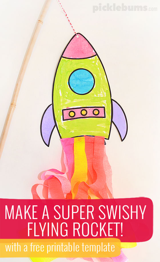 picture about Rocket Printable identify Create a Traveling Rocket! - Pickles