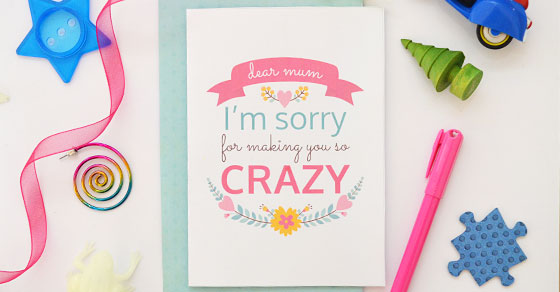Free Printable Mother's Day Card - Picklebums