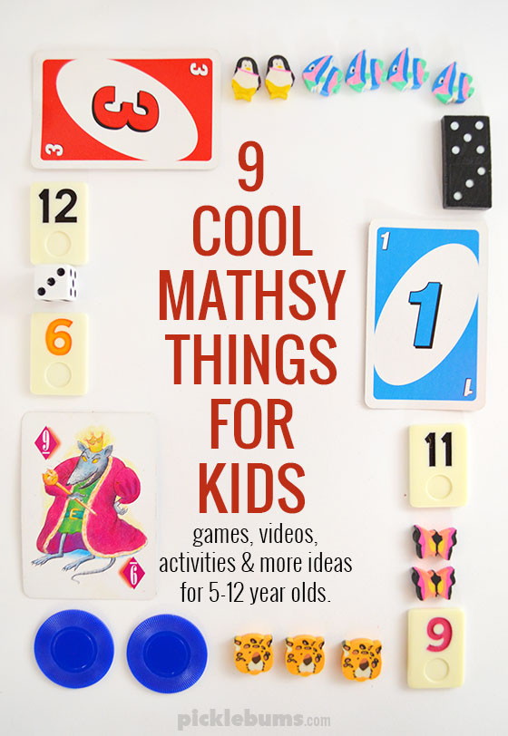 Nine Mathsy Things My Kids Love - Picklebums