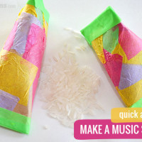 10 DIY Music Shakers and 4 Shaker Activities.