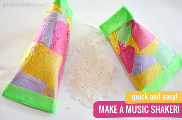 10 Diy Music Shakers And 4 Shaker Activities Picklebums
