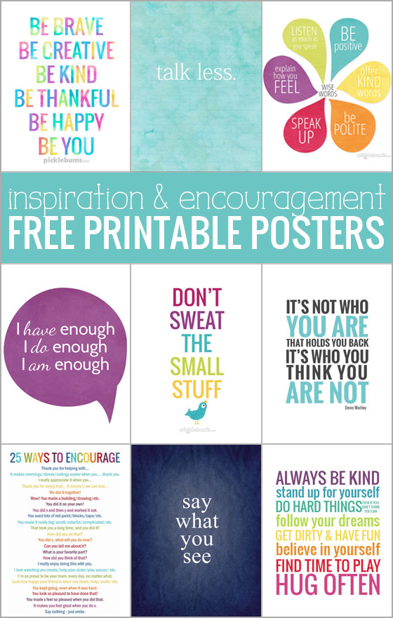 photo regarding Printable Posters named Free of charge Printable Posters for Determination and Encouragement.