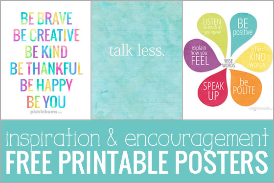 photograph regarding Printable Posters titled Absolutely free Printable Posters for Motivation and Encouragement.