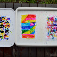 Three Ways to Paint with Rain!