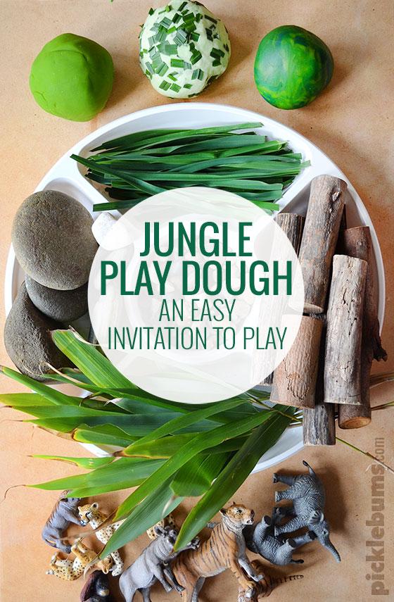 jungle play dough