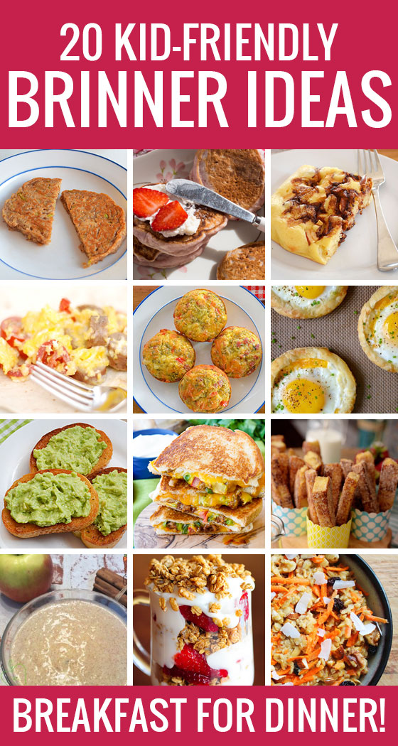 Why 'Brinner' is awesome and 20 kid-friendly 'breakfast for dinner' ideas to try