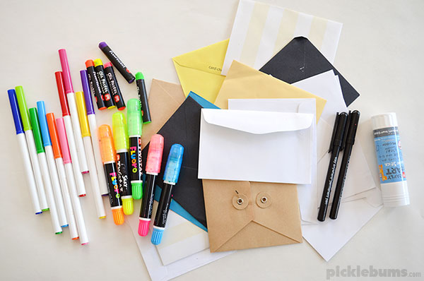 Make an envelope city!