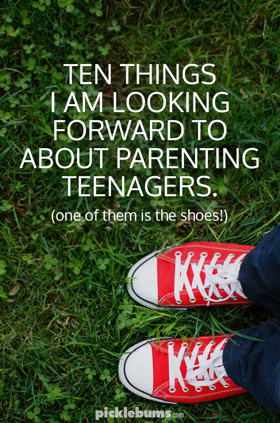 Ten things I am looking forward to about parenting teenagers - having older kids is not as bad as some people make out!
