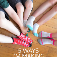 5 ways I'm making parenting easier. I'm ditching these five parenting hang-ups to lighten my load and because I just don't need to waste time worrying about this stuff!