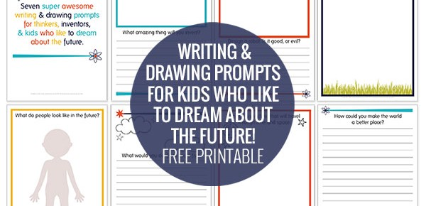 Dreaming about Tomorrowland – Futuristic Writing and Drawing Prompts