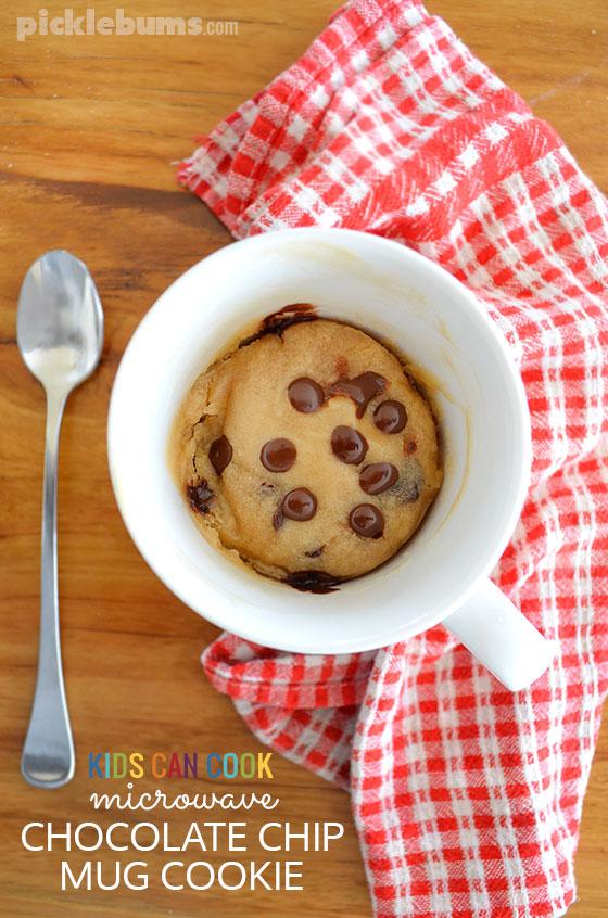 Chocolate Chip Mug Cookie