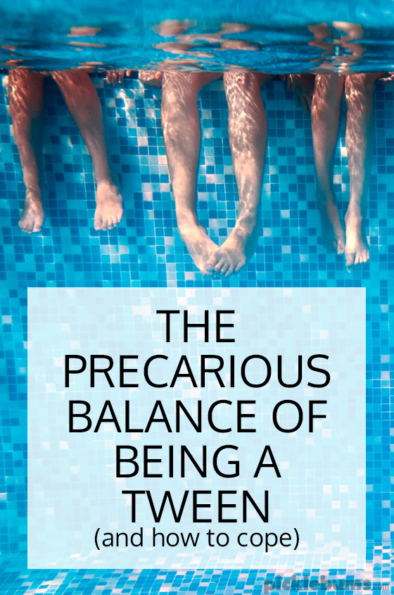 The precarious balance of being a tween - how can they be so little and also so big at the same time, and how do you cope with that?