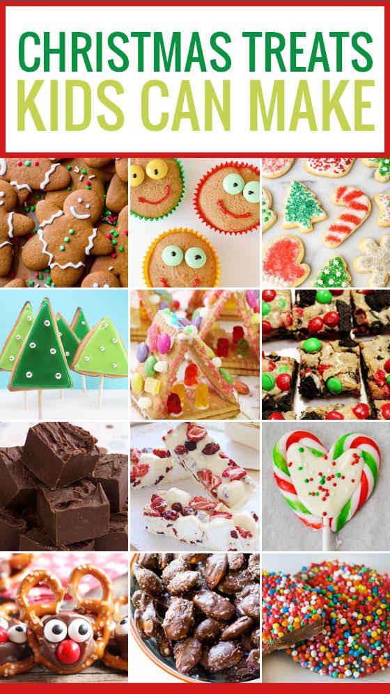 12 Christmas Treats Kids can Make