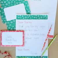 Write a letter to santa - free printable letter writing set