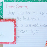 Write a letter to santa - free printable letter writing set