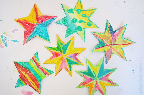 photo about Star Printable identify Simple toward Deliver Xmas Star Decorations - Pickles