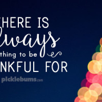 I am thankful for all the things I screw up.