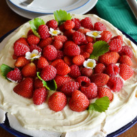 Easy pavlova recipe - just chcuk everything in a bowl and mix