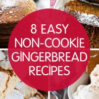 Eight Non-Cookie Gingerbread Recipes.