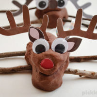Reindeer Play Dough!